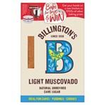 Billington's Light Muscovado Natural Unrefined Cane Sugar 500g