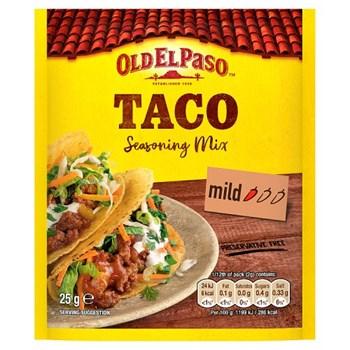 Old El Paso Taco Seasoning Mix 25g