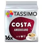 Tassimo Costa Americano Coffee Pods x16