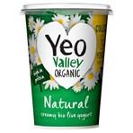 Yeo Valley Organic Natural Creamy Bio Live Yogurt 500g