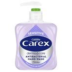 Carex Antibacterial Hand Wash Sensitive Liquid Soap 250ml