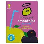 innocent Smoothies Just for Kids Apples & Blackcurrants 4 x 150ml