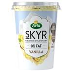 Arla Skyr Vanilla Icelandic Style Yogurt 450g