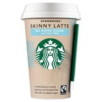 Starbucks Skinny Latte Lactose Free Flavoured Milk Iced Coffee 220ml