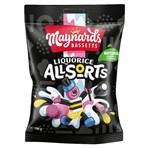 Maynards Bassetts Liquorice Allsorts Sweets Bag 190g