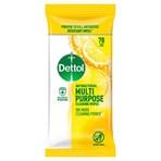 Dettol 70 Antibacterial Multi Purpose Cleaning Wipes Citrus Zest Large