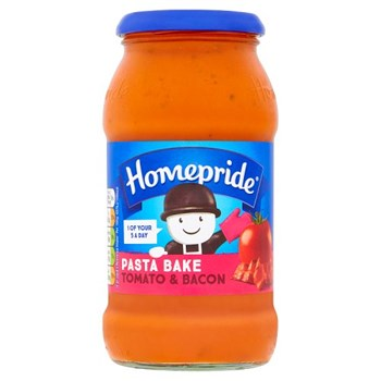 Homepride Pasta Bake Tomato & Bacon 485g