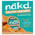 Nakd Salted Caramel Fruit & Nut Bar 4 x 35g