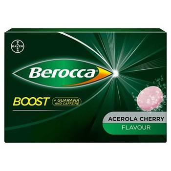 Berocca Boost Acerola Cherry Flavour 20 Sugar Free Effervescent Tablets
