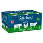 Butcher's Tripe Loaf Recipes Wet Dog Food Tins 6 x 400g