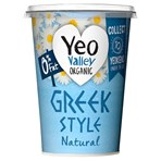 Yeo Valley Organic 0% Fat Greek Style Natural 450g