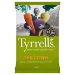 Tyrrells Sea Salted Veg Sharing Crisps 125g