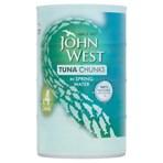 John West Tuna Chunks in Spring Water 4 x 145g