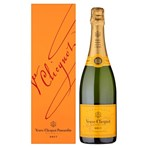 Veuve Clicquot Yellow Label Brut Champagne 75cl (Gift Boxed)