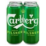 Carlsberg Lager Beer 4 x 568ml