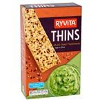 Ryvita Thins Multi-Seed Flatbreads 125g
