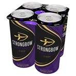 Strongbow Dark Fruit Cider 4 x 440ml Cans