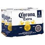 Corona Lager Beer Cans 6 x 330ml