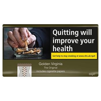 Golden Virginia The Original Includes Cigarette Papers 50g