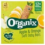 Organix Apple & Orange Soft Oaty Bars 12+ Months 6 x 30g (180g)