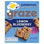 Graze Superfood Oat Boosts Cereal Bars Lemon Blueberry 4 x 30g