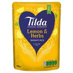 Tilda Microwave Lemon & Herbs Basmati Rice 250g