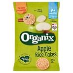 Organix Apple Rice Cakes 7+ Months 50g