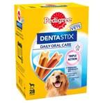 Pedigree Dentastix Daily Adult Large Dog Treats 28 x Dental Sticks 1.08kg