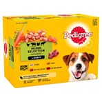 Pedigree Adult Wet Dog Food Pouches Mixed in Gravy 12 x 100g