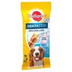 Pedigree Dentastix Daily Adult Medium Dog Treats 7 x Dental Sticks 180g