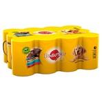 Pedigree Adult Wet Dog Food Tins Mixed in Gravy 12 x 400g