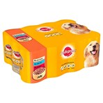 Pedigree Adult Wet Dog Food Tins Mixed in Jelly 12 x 385g