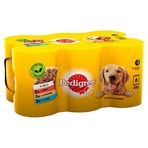 Pedigree Adult Wet Dog Food Tins Mixed in Jelly 6 x 400g