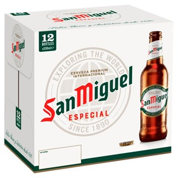 San Miguel Premium Lager Beer 12 x 330ml