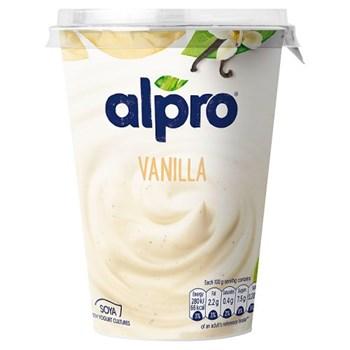 Alpro Vanilla Yoghurt Alternative 500g