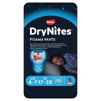 Huggies® DryNites®, Pyjama Pants, Boy, 4-7 Years (17-30kgs), 10 Pants