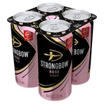 Strongbow Rosé Cider 4 x 440ml Cans