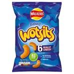 Walkers Wotsits Really Cheesy Multipack Snacks 6x16.5g