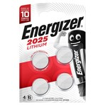 Energizer® 2025 Lithium Battery 4-Pack
