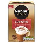 Nescafe Gold Cappuccino Instant Coffee 8 x 15.5g Sachets