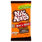 Nik Naks Nice 'N' Spicy Multipack Crisps 6 Pack