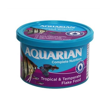 Aquarian Tropical Fish Food Flakes 50g