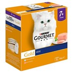 Gourmet Gold Senior Mousse with Salmon Cat Food 8 x 85g