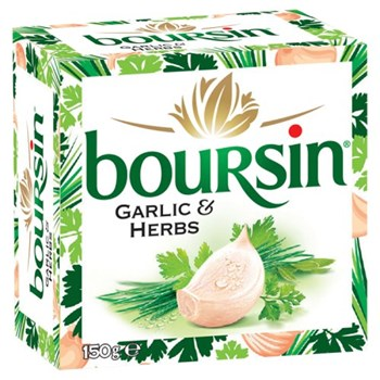 Boursin Garlic & Herbs 150g