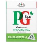 PG tips Original Biodegradable Tea Bags 160