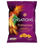 Walkers Sensations Mango & Chilli Chutney Sharing Poppadoms 82.5g