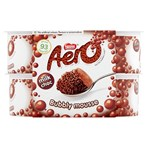 Aero Milk Chocolate Mousse 4 x 59g