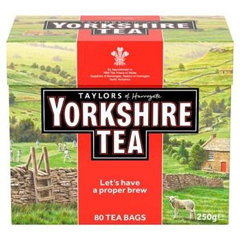 Yorkshire Tea 80 Tea Bags 250g