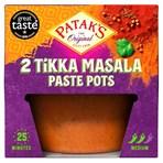 Patak's The Original Tikka Masala Paste Pots 2 x 70g