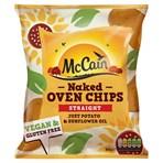 McCain Naked Oven Chips Straight 900g